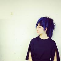 青い髪 - hair SPIRITUSのブログ