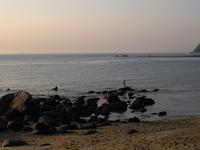 糸島二見ヶ浦と夕日 - 信仙のブログ