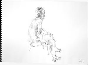 『 Gallerytanasita 17』開設70 - 『Gallerytanasita 1735』croquis・drawing・dessin・ sketch