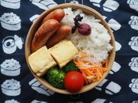 6/27(火)ウインナー弁当 - ぬま食堂