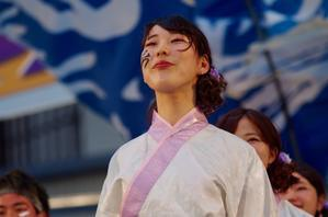 2017加古川踊っこまつり2日目その50(神戸大学 よさこいチーム山美鼓) - ヒロパンの天空ウォーカー
