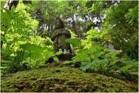緑陰地蔵 - muku3のフォトスケッチ