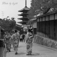 京都 法観寺界隈 - 癒しの空間