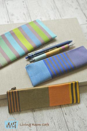 1枚布の縫わないペンケース スリムタイプ - Living room cafe diary