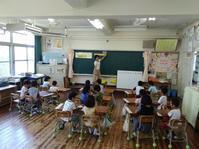 田植えの授業へ - 能古島の歩き方