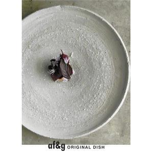 赤ジソのソースとイサキ/[アート農場と庭]のアートフード - アート農場と庭