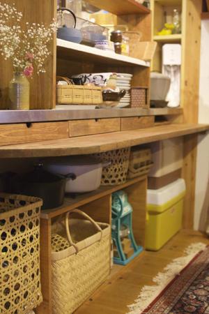 DIY・システムキッチンにカウンターを追加 - peddyのくまちゃん カメラを持って。