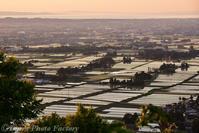 富山散歩~県東部391~大沢野の夕陽 - Tomの一人旅~気のむくまま、足のむくまま~