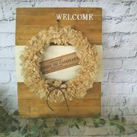 welcomeボード。 - 手作り雑貨&観葉植物 kinomi