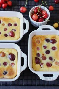 cherry clafoutis - flavor of my life