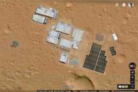 『秘密の火星基地、Googleマップで発見』/ 2017年5月19日 - 「つかさ組!」
