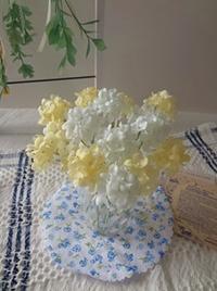 シャーベットカラーの小花 - handmade flower maya