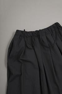 RINEN  2/80 Summer Wool Skirt (Black) - un.regard.moderne
