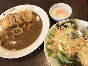 My favorite curry. - ヤッケブースでパンケーキ!