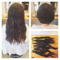 ヘアドネーションにご協力頂いたT様! - 東京都荒川区にある尾久駅前の美容室 WEST HAIR DESIGNのブログ