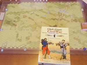 我、誤てり。ないごて我、あやまてりじゃ...(GMT)Clash of Giants:Civil Warのゲティスバーグで北軍完敗 - YSGA(横浜シミュレーションゲーム協会) 例会報告
