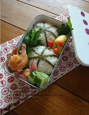 6.28 海老から揚げと手毬むすび弁当&エスカレーター問題 - YUKA'sレシピ♪