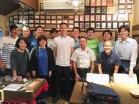 小林祐希選手を囲む食事会 - 農場長のぼやき日記