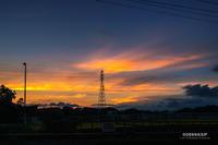 ☆ あかね雲と鉄塔 ☆ - Trimming