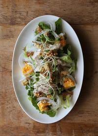 茹ですぎた卵 - Nasukon Pantry