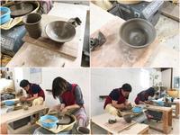 本日の陶芸教室 Vol.701 - 陶工房スタジオ ル・ポット