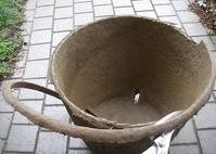 再生紙の大型植木鉢の活用 - hills飛地 長距離自転車乗り(輪行含む)の日誌