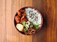 6/28(水)豚のケチャップ照り焼き弁当 - おひとりさまの食卓plus