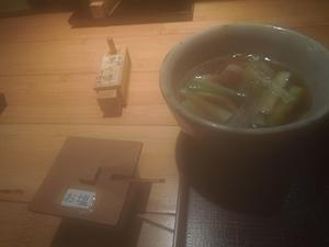 久庵で仕事納めランチ - つれづれ食日記