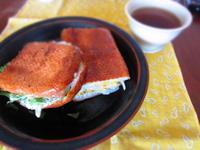 キューバサンド 照り焼きとタンドリー - 恵茶房 meg tea labo
