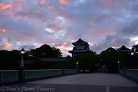 金沢城のライトアップ夜景 - Tomの一人旅~気のむくまま、足のむくまま~