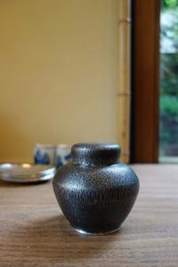 錫の茶壷 - g's style day by day ー京都嵐山から、季節を楽しむ日々をお届けしますー