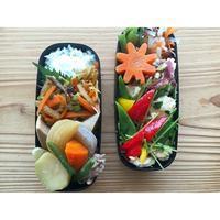 モロッコインゲンと鶏胸肉の炒め物BENTO - Feeling Cuisine.com