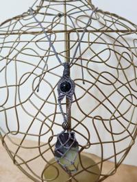 【マクラメ&ヘンプ】#132 プレナイトの着せ替えネックレス - Shop Gramali Rabiya (SGR)