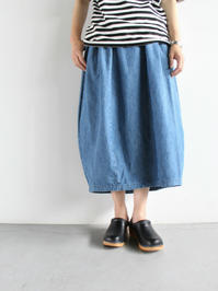 Ordinary fits TSUBOMI SKIRT / DENIM (LADIES ONLY) - 『Bumpkins putting on airs』