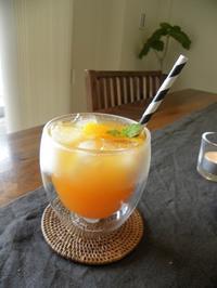 おもてなしにおすすめのオレンジアイスティー♡(レシピあり)と、わんぱくサンド? - イロトリドリノ暮らし