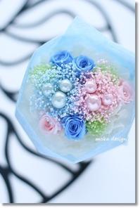 ミニミニブーケ* のギフト - Flower letters