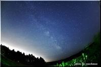 家から10分で天の川 - 北海道photo一撮り旅