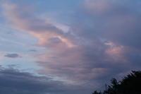 久しぶりの夕焼け雲 - Silver clay Ru*  手軽にできるシルバーアクセサリー