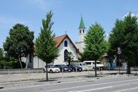 松本聖十字教会 - レトロな建物を訪ねて