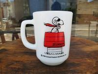 Fire King Snoopy Mug Red Baron - DELIGHT CLOTHING&SUPPLY