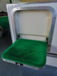 収納式座席 - 今日も丹後鉄道