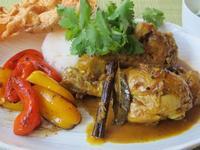 鶏もも肉のインド風ライトソース - やせっぽちソプラノのキッチン2