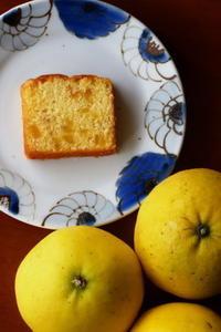 河内晩柑のパウンドケーキ - Baking Daily@TM5