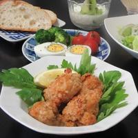 鶏の唐揚げランチ - Mme.Sacicoの東京お昼ごはん