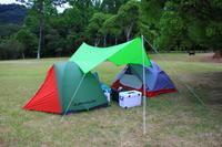 週末キャンプ - どこまで行けるかな?