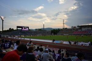 サッカー観戦 -