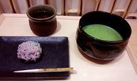 抹茶と和菓子 - お昼ごはんはパフェ (お昼ごはんはモーニング?)
