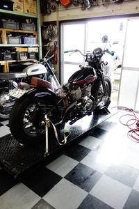 1946WR750 クランク分解作業・計測・考察 - Vintage motorcycle study