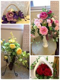 作家さんの作品紹介『Flower Salon Yokoyama』 - プチ ァ プチ ~petit a petit~