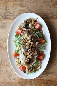 キノコサラダ - Nasukon Pantry